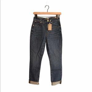 Madewell High Rise Slim Boyjean Jeans
